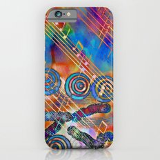 Musical Doodle Slim Case iPhone 6s