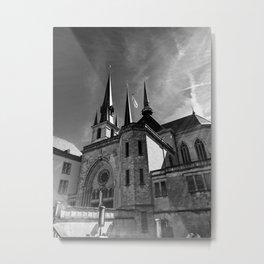 Notre-Dame Luxemburg Metal Print