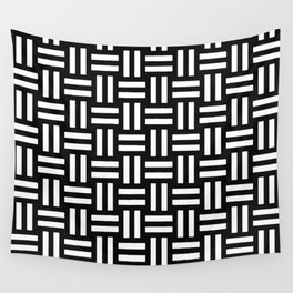 Equal White Wall Tapestry