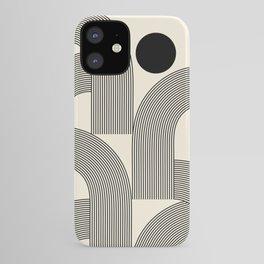Abstraction_SUNLIGHT_SUNSHINE_LINE_POP_ART_Minimalism_001A iPhone Case