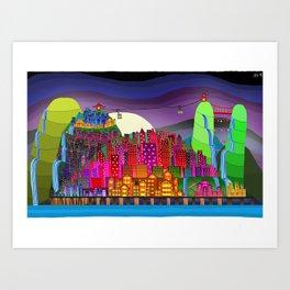 ChongQing Art Print