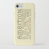 30 rock iPhone & iPod Cases featuring Ambition — Jack Donaghy, 30 Rock by feishien