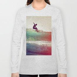 Danse avec les vagues Long Sleeve T-shirt