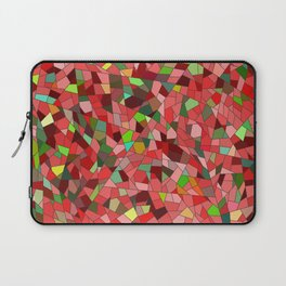 Red stained glass Laptop Sleeve