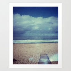 Tura Beach Art Print