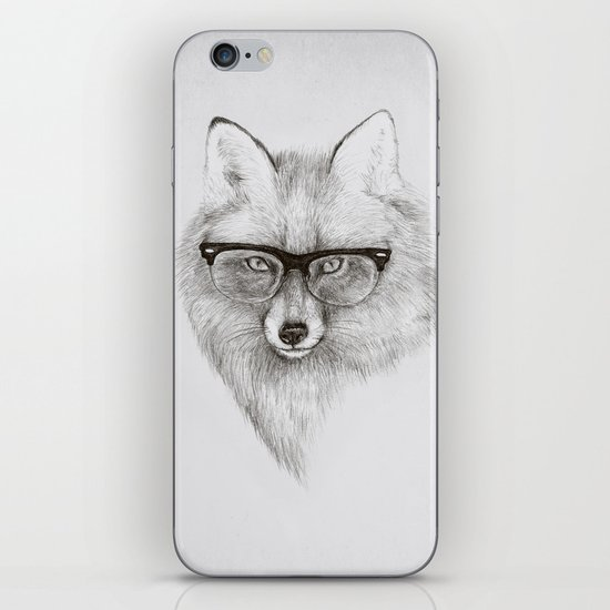 Fox Specs iPhone & iPod Skin