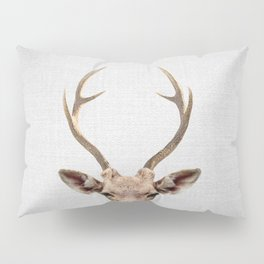 Deer - Colorful Pillow Sham