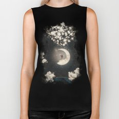 The Big Journey of the Man on the Moon  Biker Tank