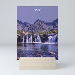 Skye, Scotland Travel Artwork Mini Art Print