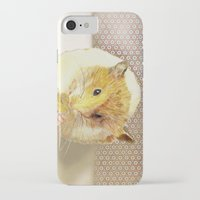 hamster iPhone & iPod Cases featuring Hamster by Lucie Mizutani