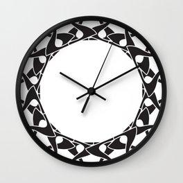 Art Nouveau Mandala Wall Clock