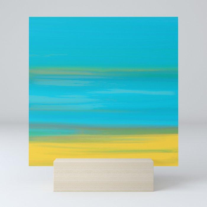 Morning Sea Mini Art Print