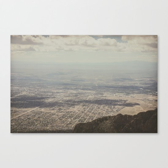 Above Canvas Print