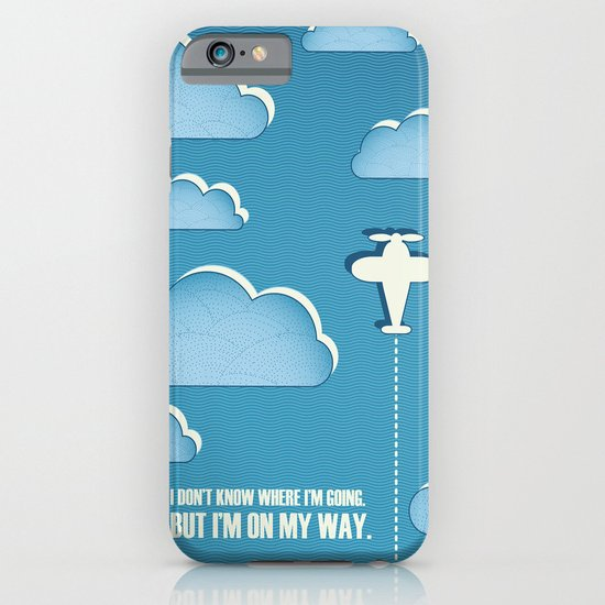 On My Way iPhone & iPod Case