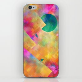 Snowboard iPhone Skin