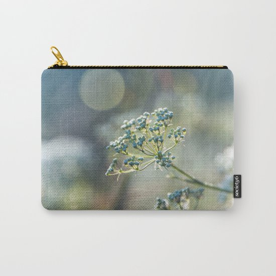 Early morninglight in a meadow Carry-All Pouch