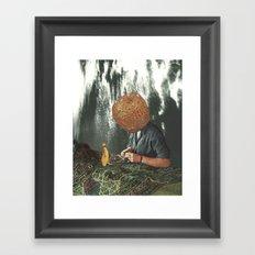 Polynesian Fever Dream Framed Art Print