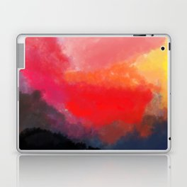 Red, Black and Yellow Mosaic Laptop & iPad Skin