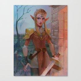 Elven Zelda Canvas Print