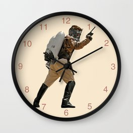 Rocket-Lord Wall Clock