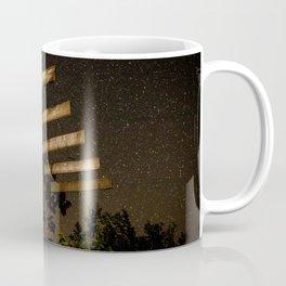 The Night Sky in Costa Rica Coffee Mug