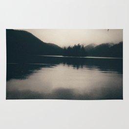 Island in a Lake Rug