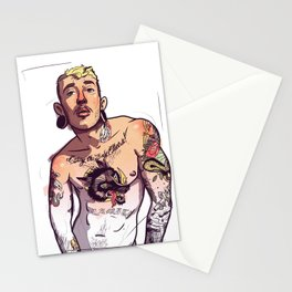 Viktor Belmont Trans Tattoo Stationery Cards