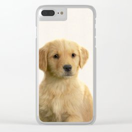 Dog print dog photography minnimalist nursery art animal Clear iPhone Case