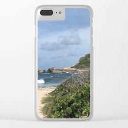 Pointe des Chateaux Clear iPhone Case
