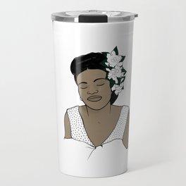 Billie Holiday / Lady Day Travel Mug