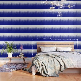 Ink Blue Ombré Wallpaper