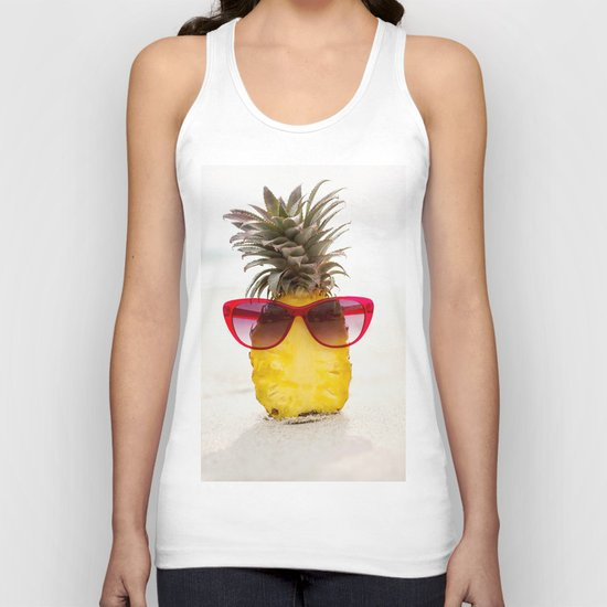 cool pineapple Unisex Tank Top