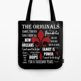 The Originals inspired art print (Black) Tote Bag
