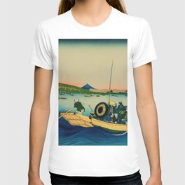 Ryogoku Bridge over the Sumida River T-shirt