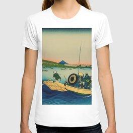 Ryogoku Bridge over the Sumida River T-shirt