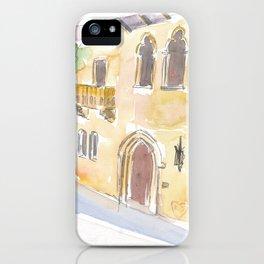 Balcony Of Juliet In Verona Symbol Of Love iPhone Case