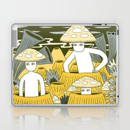 Mushroom Men Laptop & iPad Skin