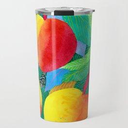summer peaches Travel Mug