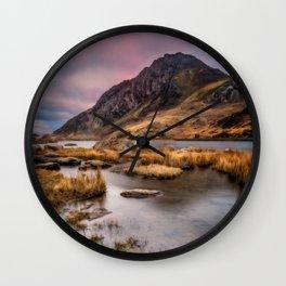 Tryfan Mountain Wales Wall Clock