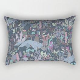 Coyote Desert Rectangular Pillow