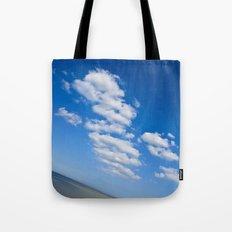 Downhill Seascape  Tote Bag