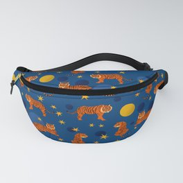 Cosmic Tigers Fanny Pack