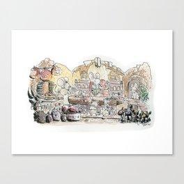 Thumbelina's house! Canvas Print