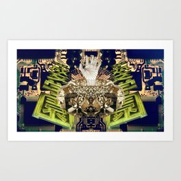 Circuitry Emerge Art Print
