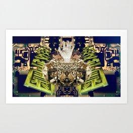 Circuitry Emerge Art Print
