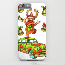 Jingle Bells by Monica Hulsing iPhone Case