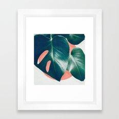 MONSTERA #1 Framed Art Print
