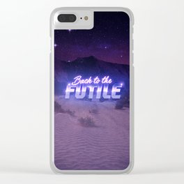Back to the Futile Clear iPhone Case