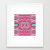 60s Framed Art Prints featuring 60s  by cactus studio