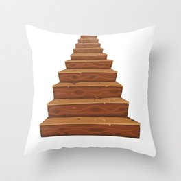 Stairs To The Afterlife Throw Pillow